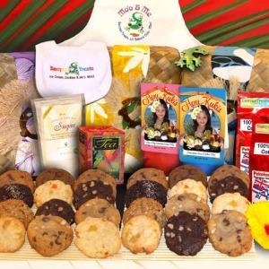 Fresh Honi Kukis, Honi Kuki Mix, 100% Maui Coffee, Mango Tea, Flavored Sugar, Children's Apron, Children's Bib, Toy Mo'o