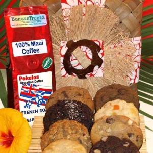 One batch Honi Kukis and one bag Maui Coffee