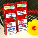 Two eight oz. packages of 100% Maui Coffee