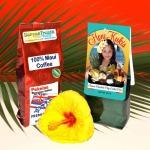 One bag 100% Maui Coffee and one bag Honi Kuki MIx