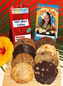 Honi Kukis, Pekelos Coffee, Hawaiian Cookies, Hawaiian Treats, Maui cookies, cookies
